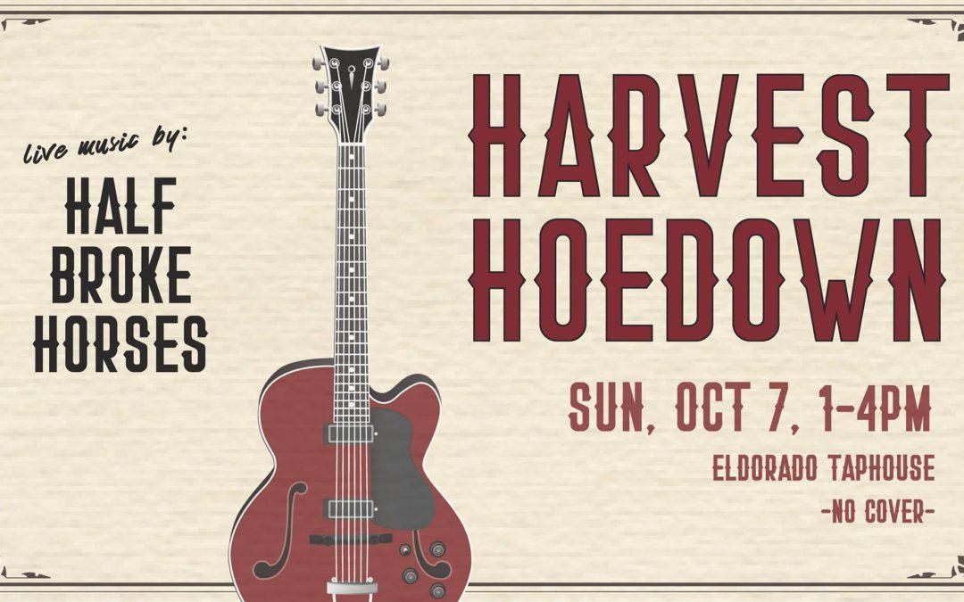 Harvest Hoedown Sunday October 7th
